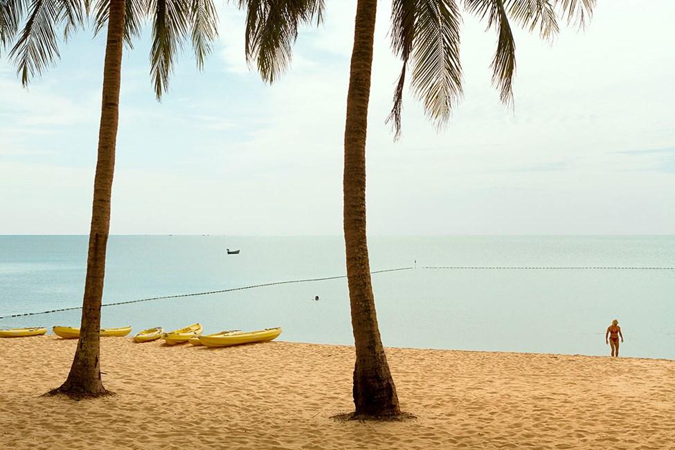 Stranden vid Vings hotell The Shells Resort & Spa