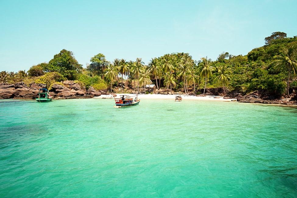 Ön An Thoi - perfekt för snorkling