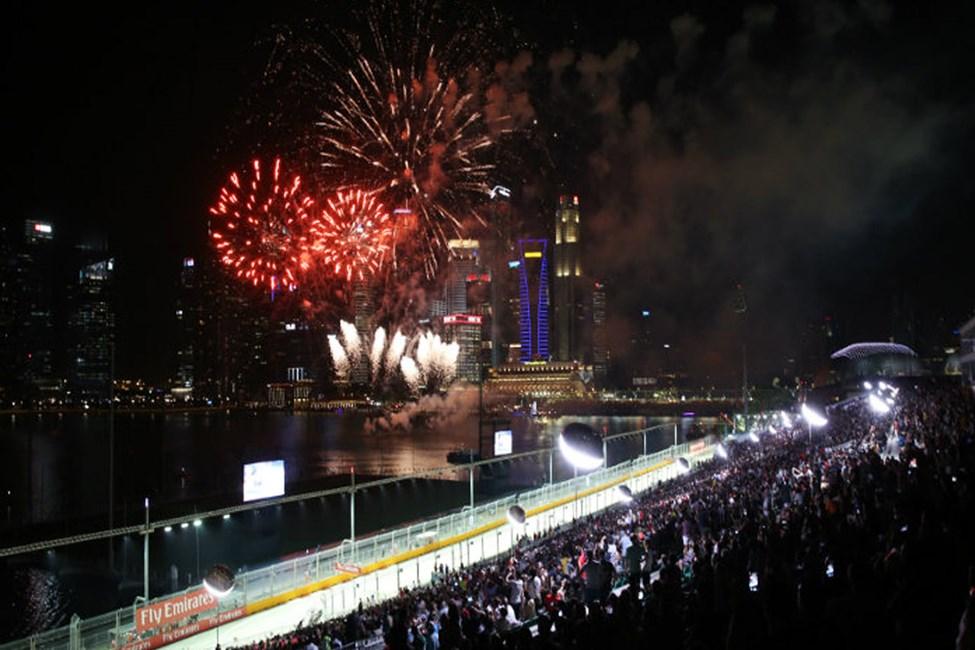 Bay Grandstand - Singapore Grand Prix