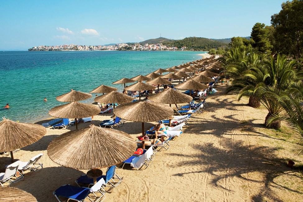 Porto Carras Beach i Sithonia