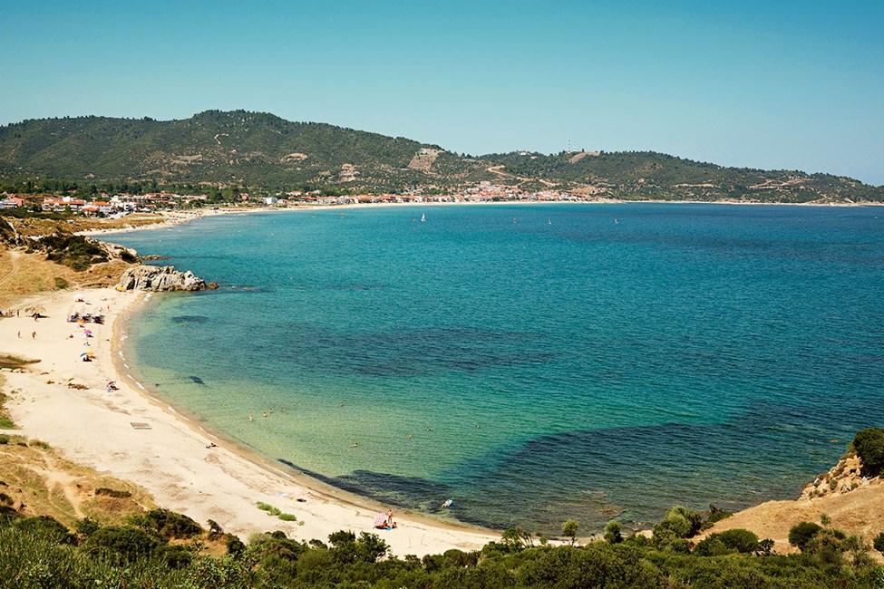 Njut av sköna bad i Egeiska havet