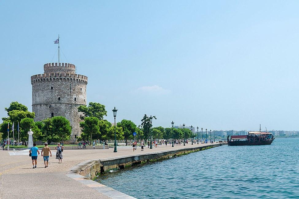 Det vita tornet, Thessalonikis historiska landmärke