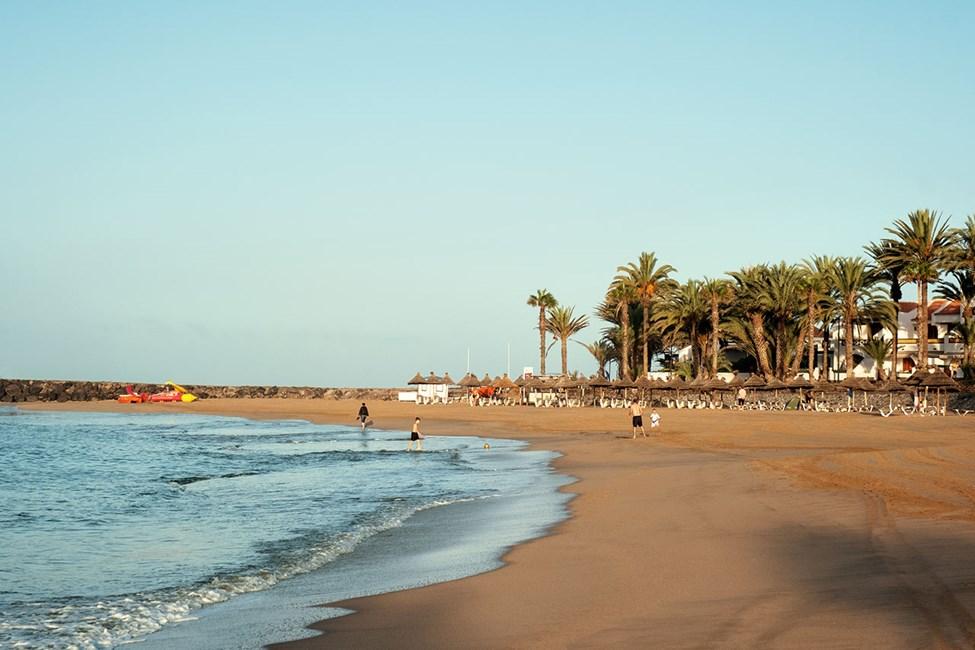 Stranden Playa del Camison