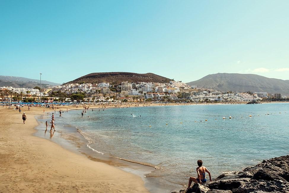 Stranden Playa de las Vistas