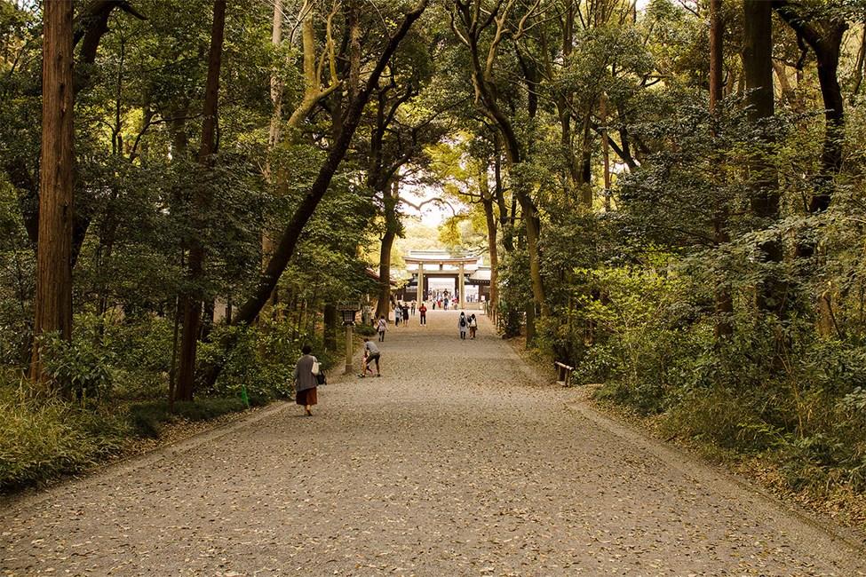 Meiji-templet