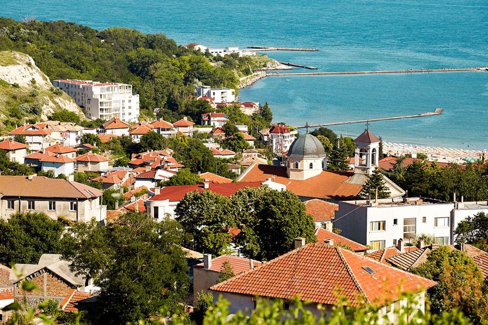 Vacker utsikt över Balchik