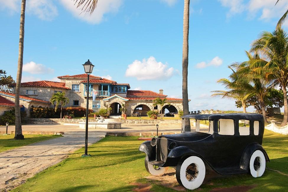 Fiskrestaurangen Casa de Al. Eventuellt Al Capones hus 1928-1929