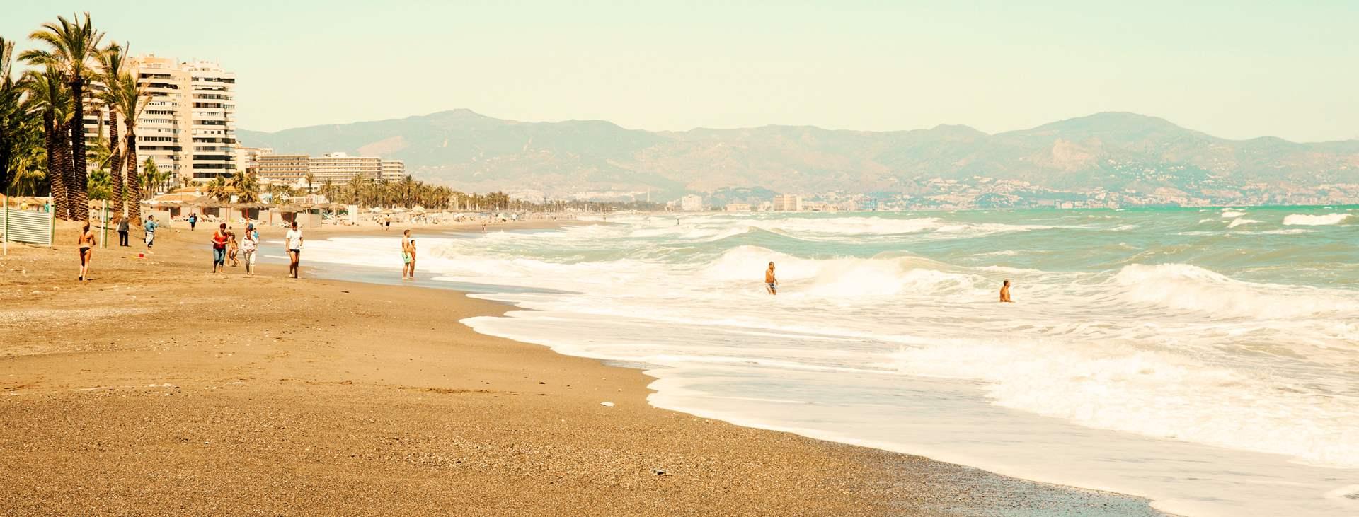 Resor till Torremolinos på Costa del Sol i Spanien