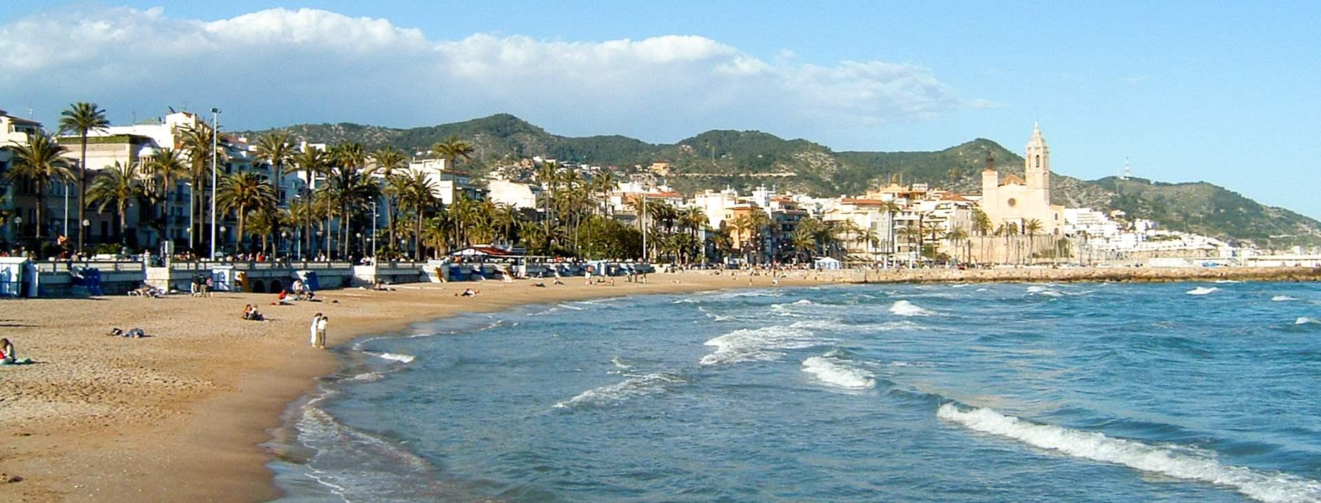 Resor till Sitges på Costa Dorada i Spanien