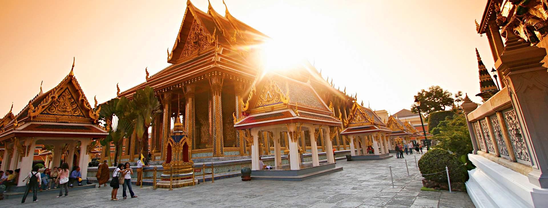 Resor till Bangkok i Thailand