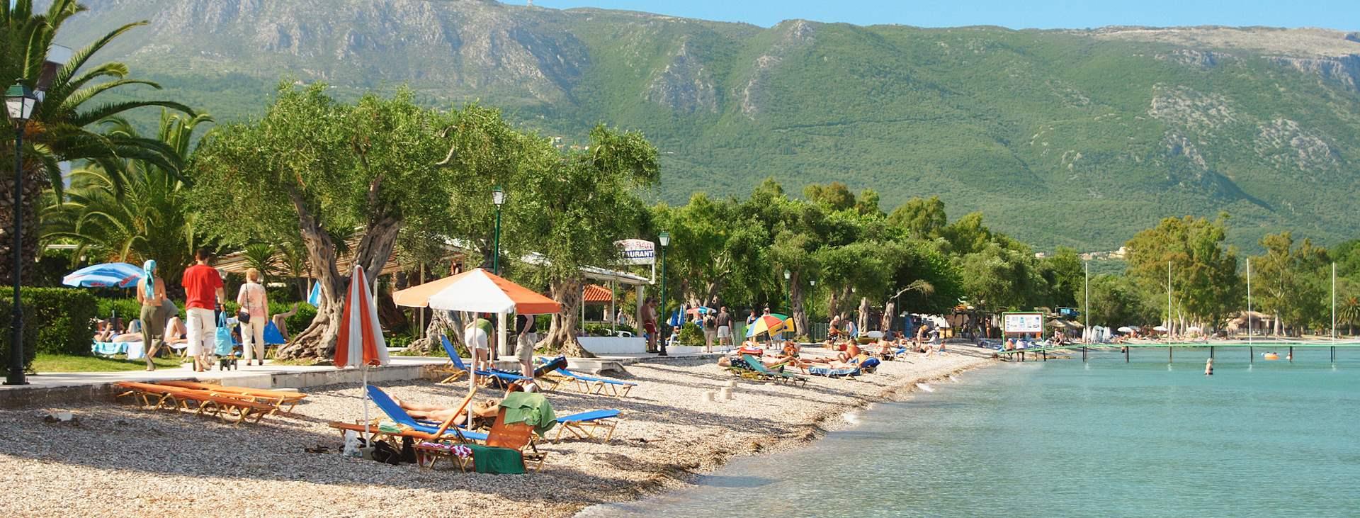 Resor till Dassia i Grekland