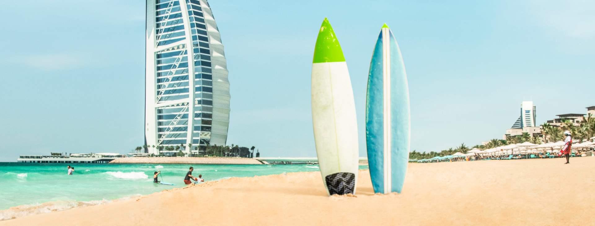 Boka en resa till strandparadiset i Dubai - Jumeirah Beach