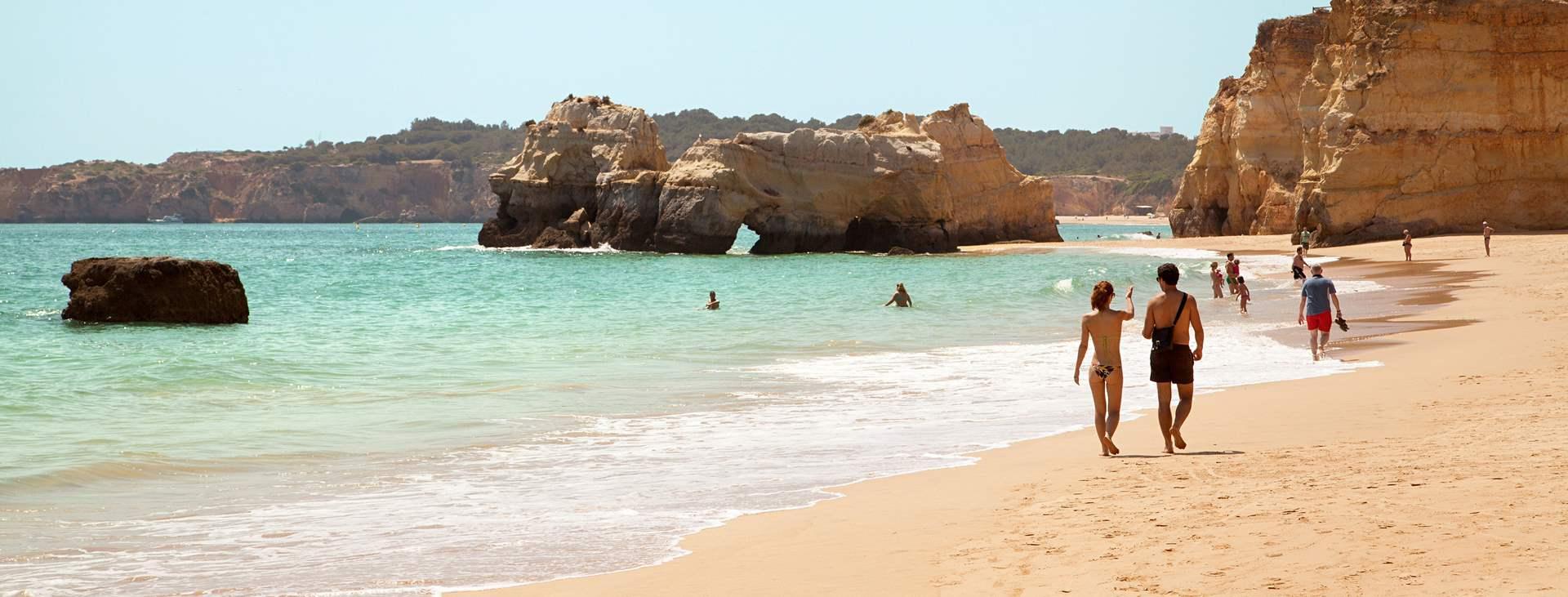 Resor till Praia da Rocha i Portugal