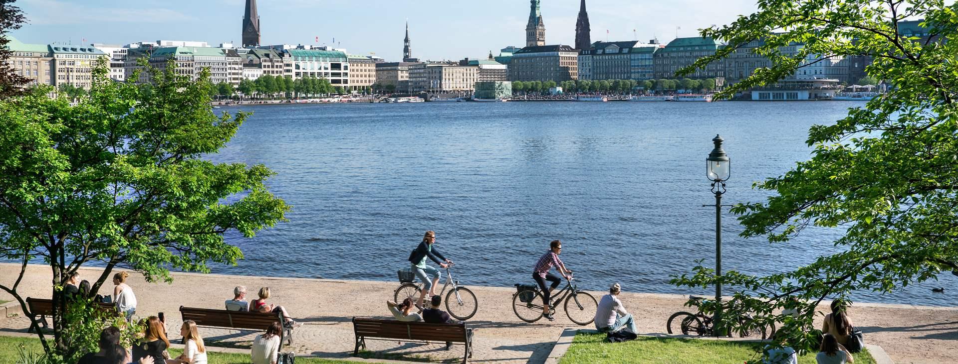 Resor till Hamburg i Tyskland