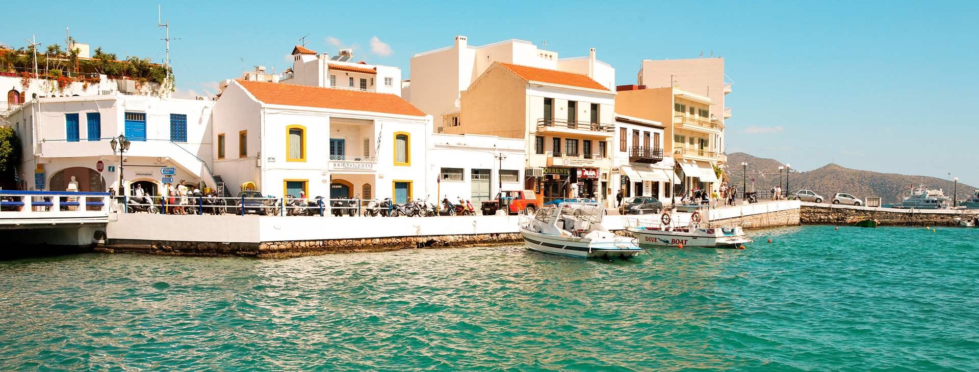 Boka en resa till Agios Nikolaos i Grekland med Ving