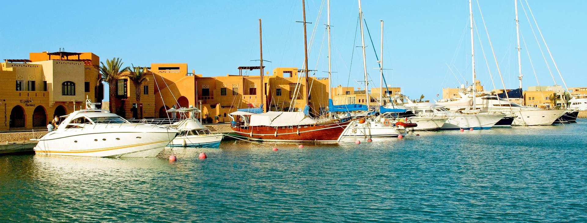 Spela golf i Egypten – Boka en resa till El Gouna