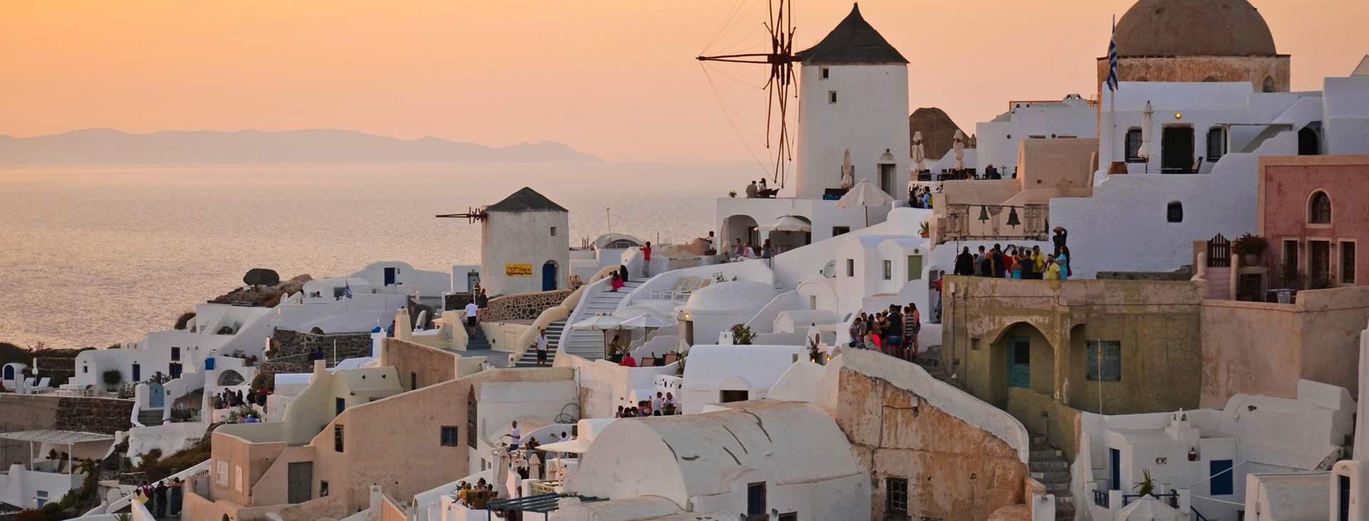 Resor till Oia på Santorini i Grekland