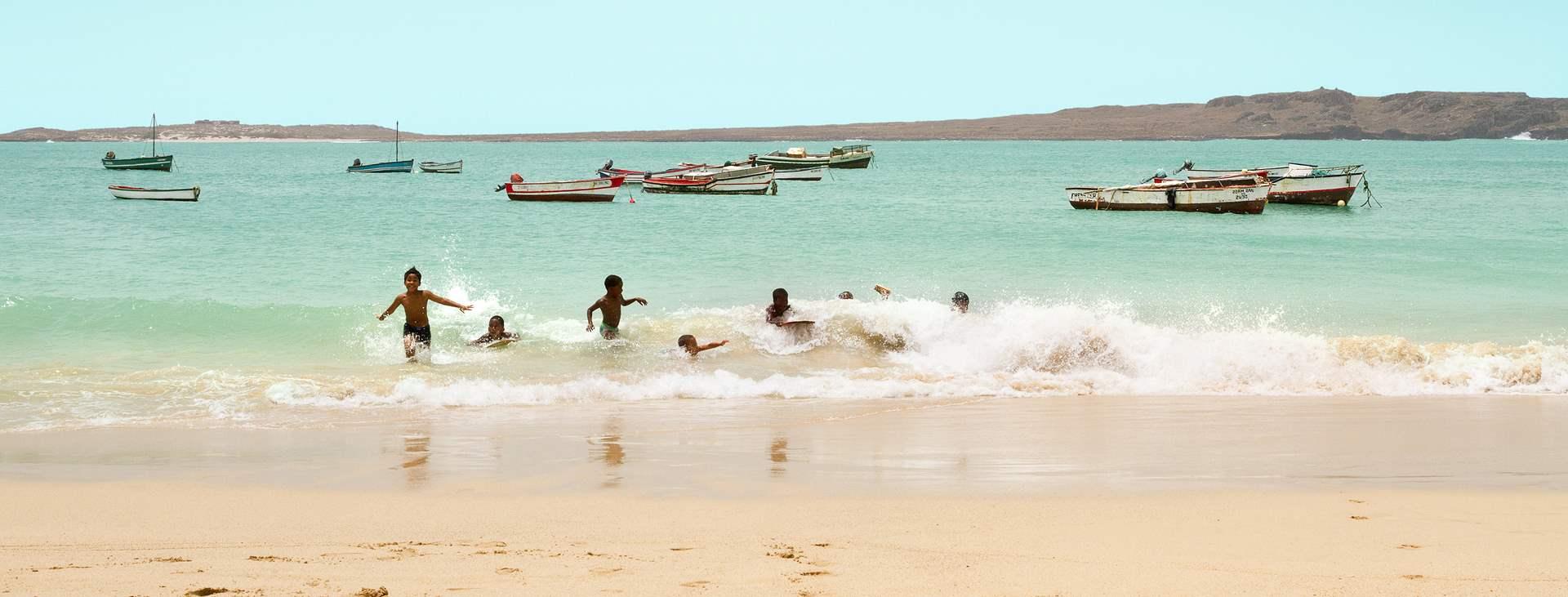 Resor till Sal Rei på ön Boa Vista i Kap Verde