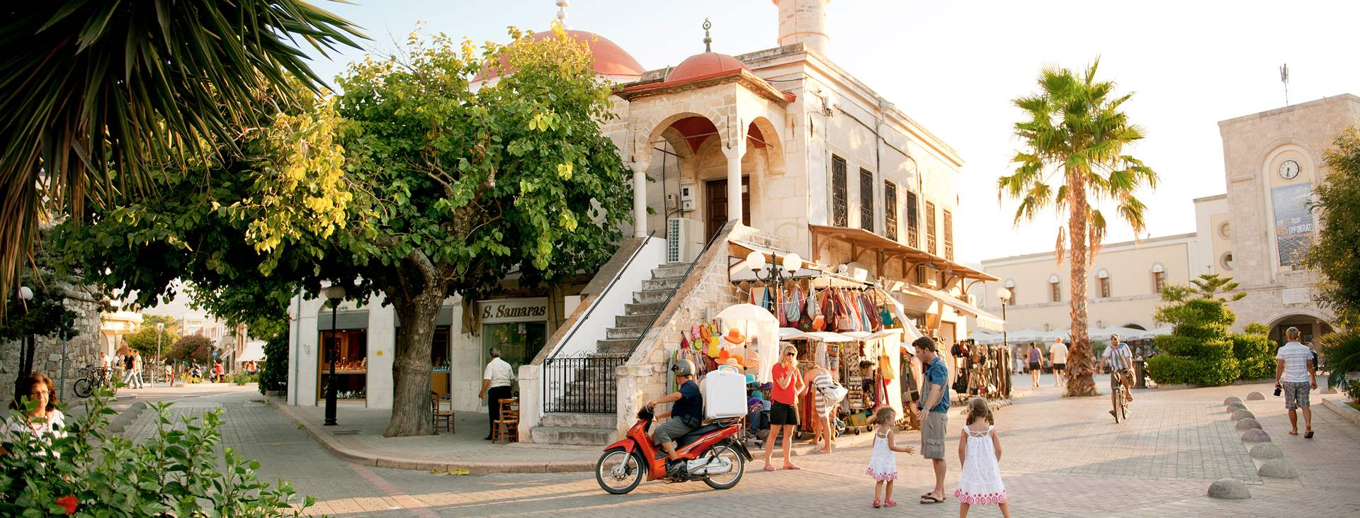 Boka din resa till Kos stad i Grekland med Ving