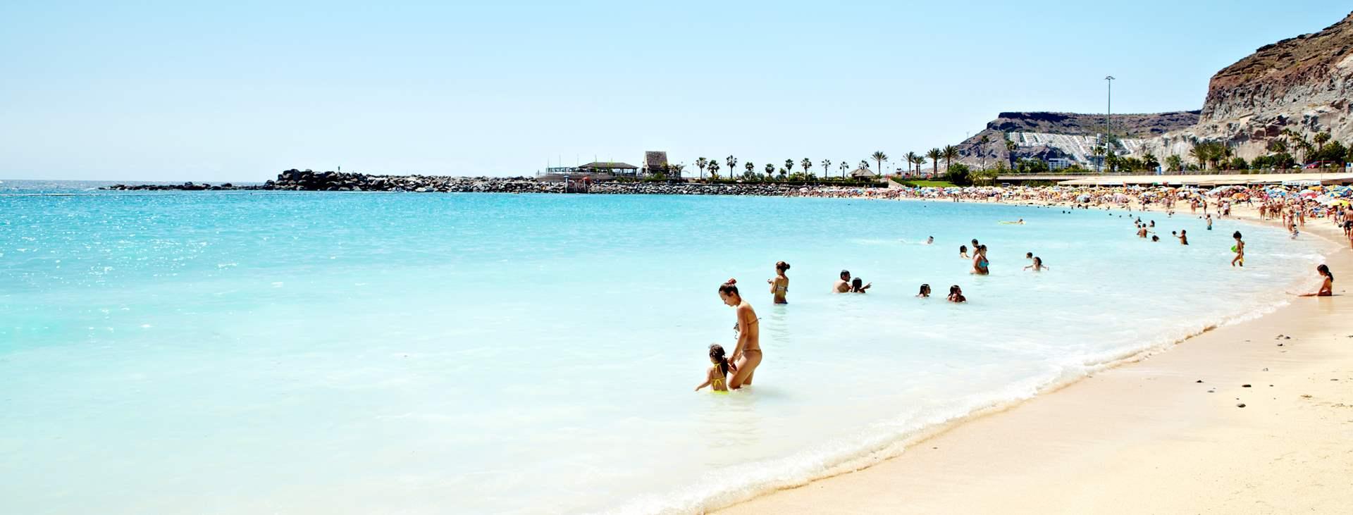 Boka en resa med All Inclusive till Playa de Amadores på Gran Canaria