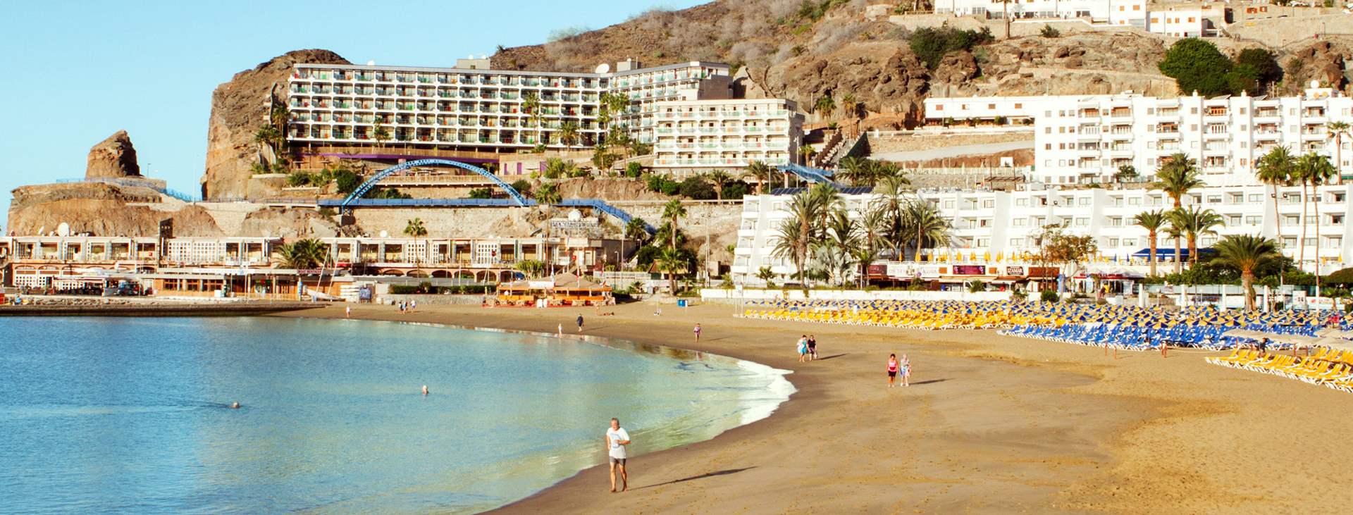 Boka en resa till barnvänliga Puerto Rico på Gran Canaria