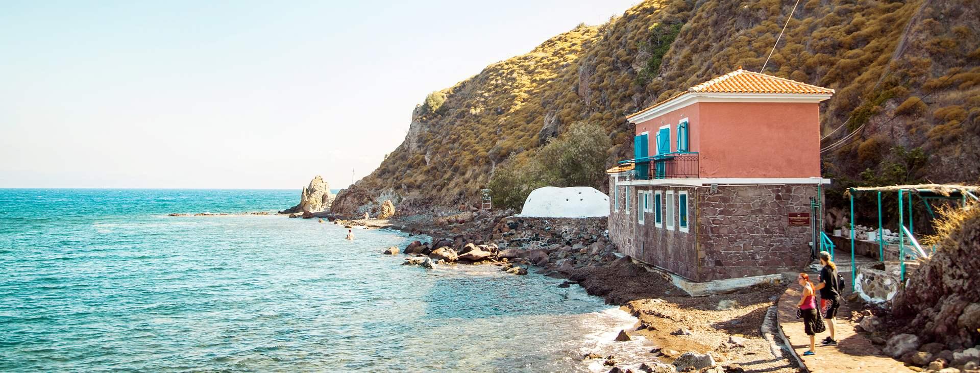 Resor till Eftalou i Grekland