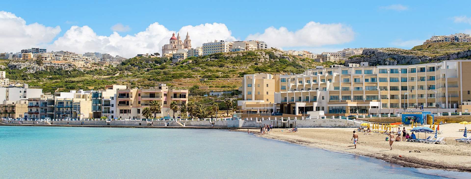 Resor till Mellieha på Malta med Ving