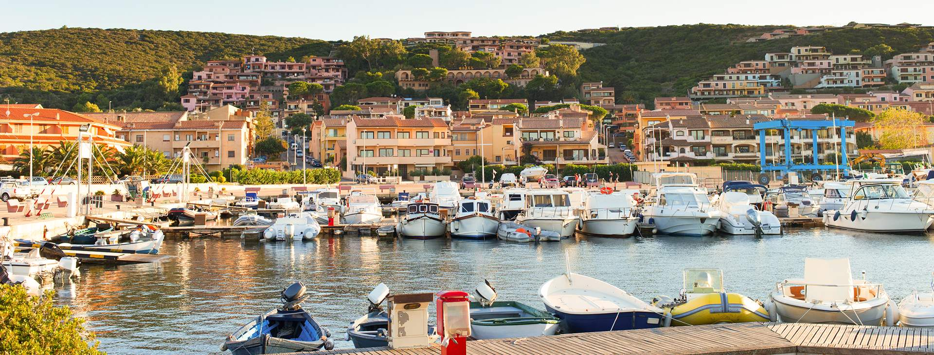 Resor till Costa Smeralda på Sardinien i Italien