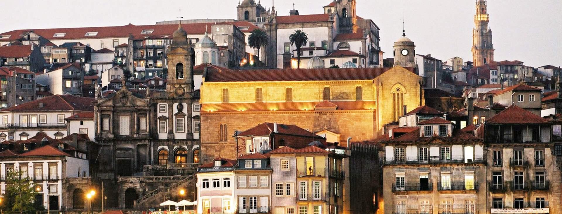 Resor till Porto på Costa Verde i Portugal