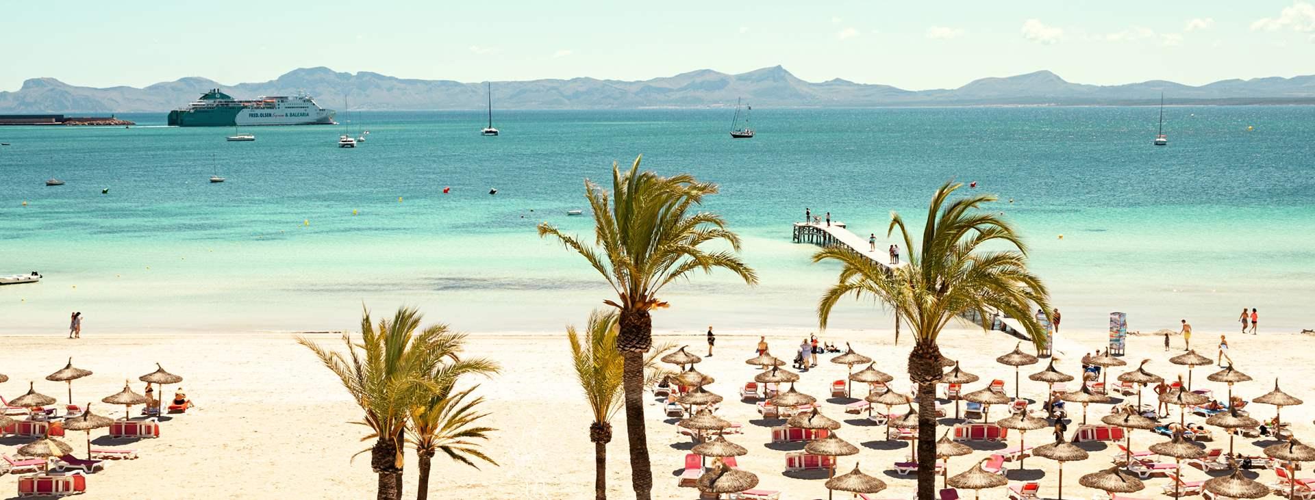 Boka en resa till barnvänliga Alcudia på Mallorca med Ving
