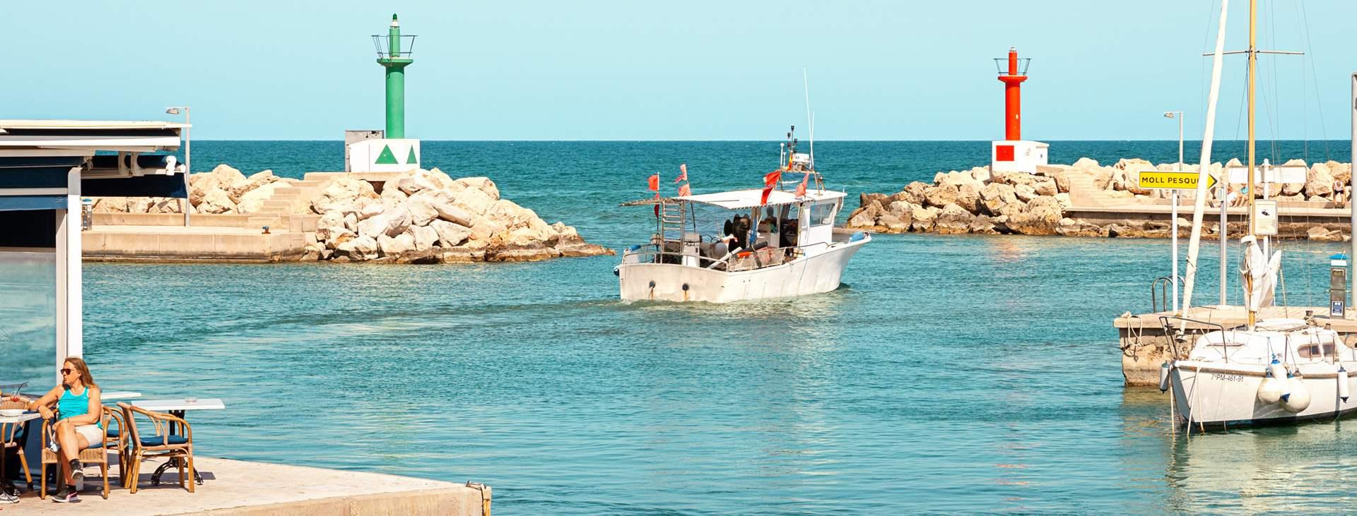 Boka en resa med All Inclusive till Cala Bona på Mallorca