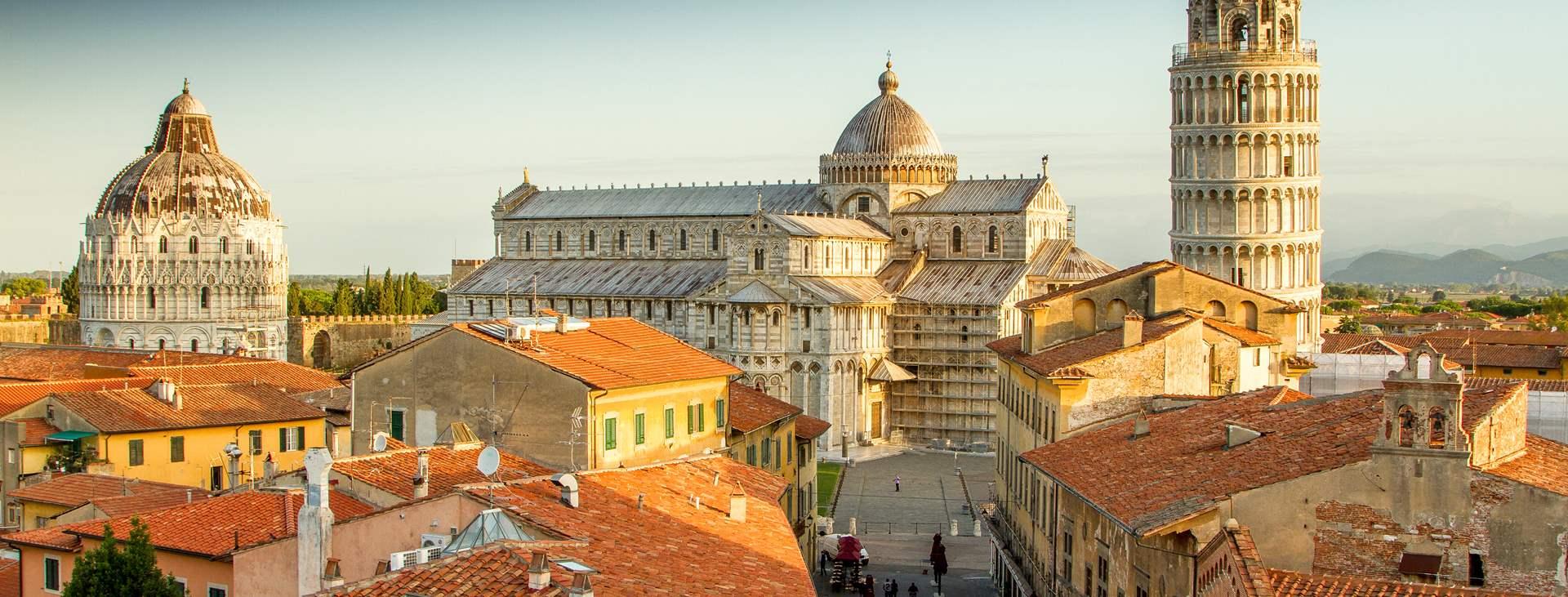 Resor till Pisa i Italien