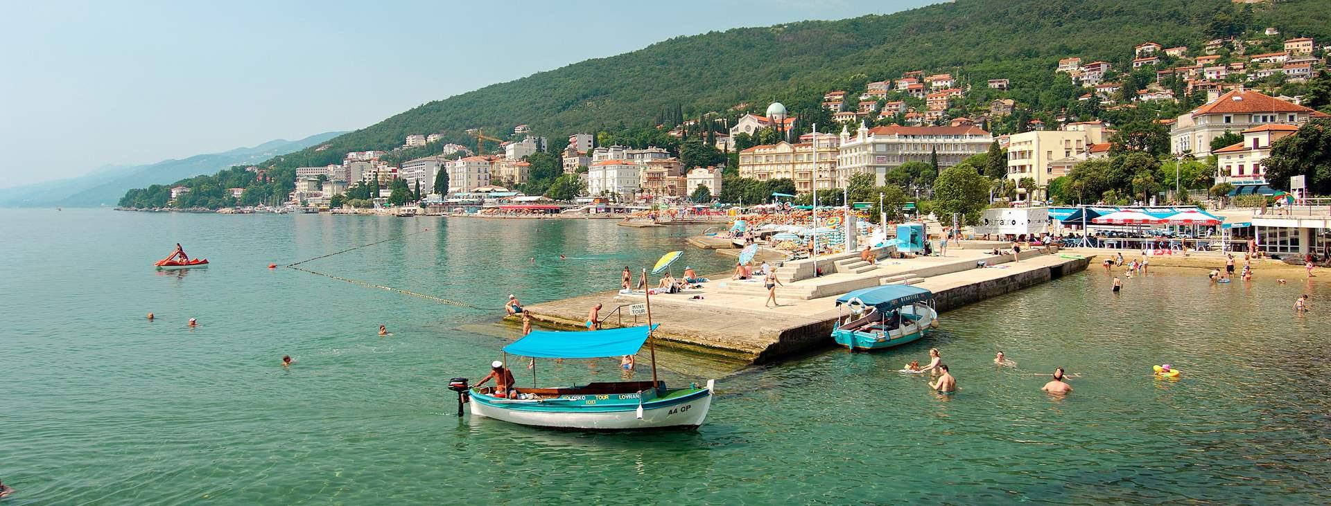 Resor till Opatija i Istrien i Kroatien