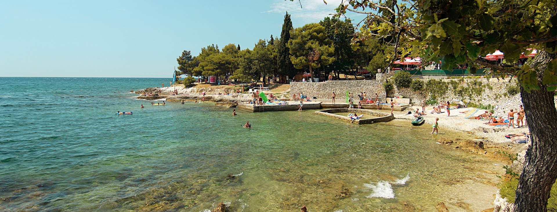 Resor till Porec i Istrien i Kroatien