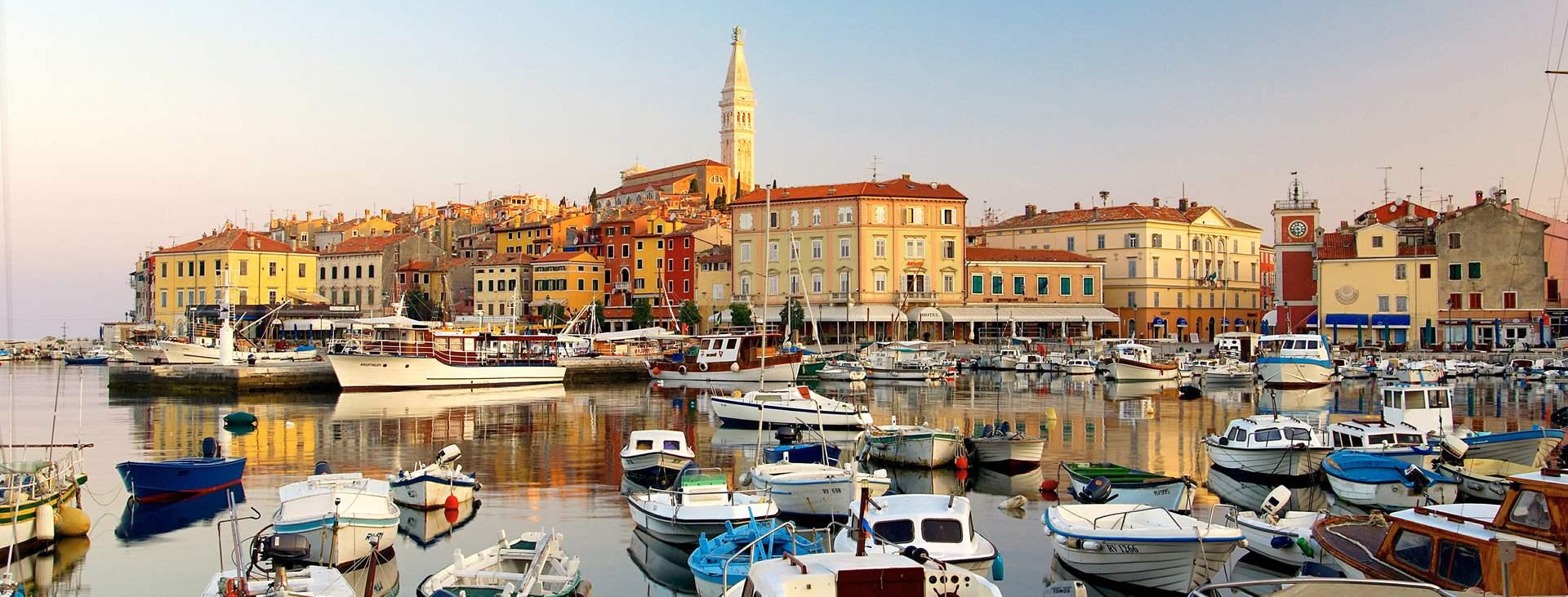Resor till Rovinj i Istrien i Kroatien