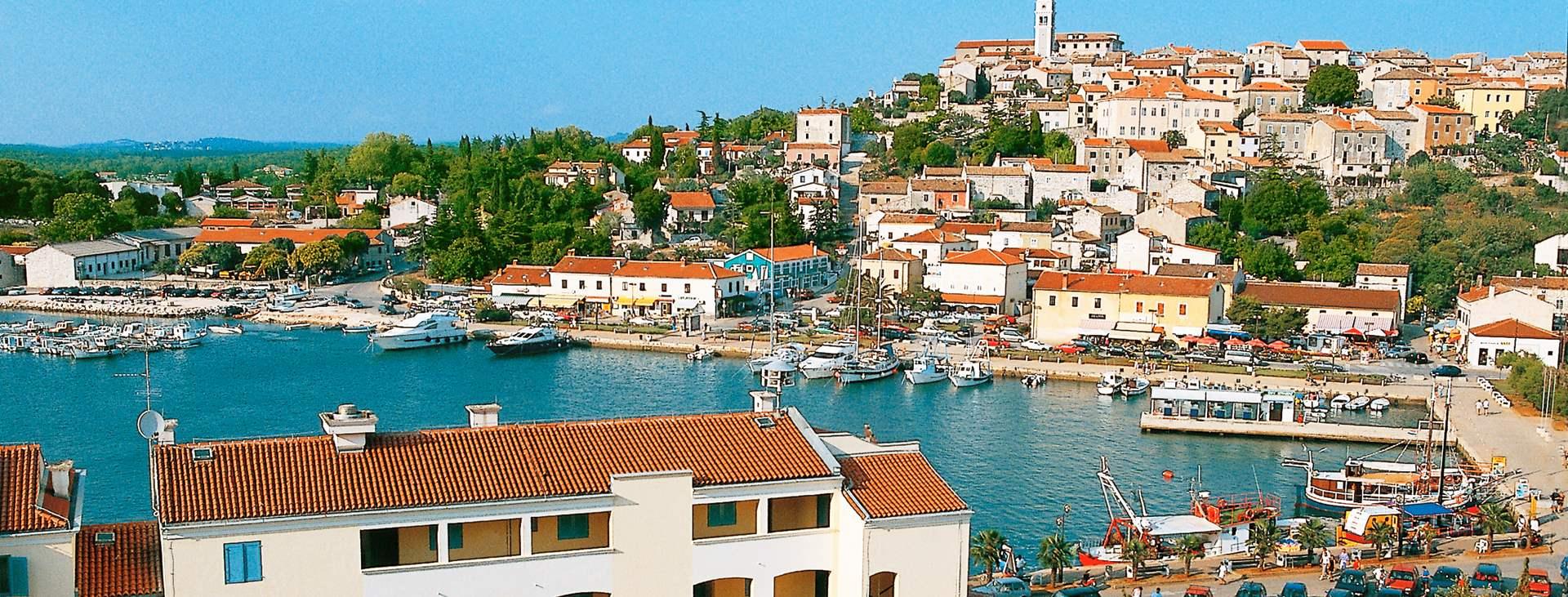 Resor till Vrsar i Istrien i Kroatien