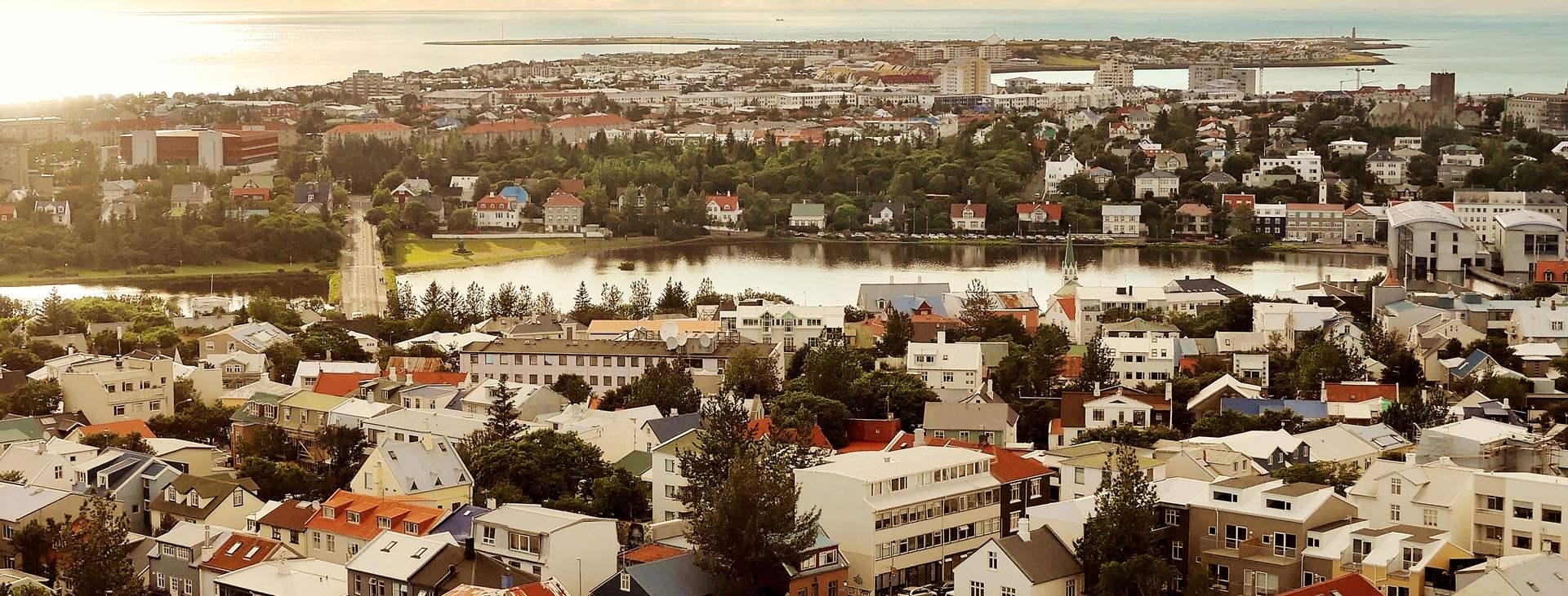 Resor till Reykjavik på Island