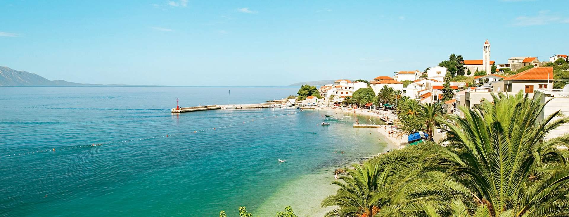 Resor till Gradac på Makarska rivieran i Kroatien