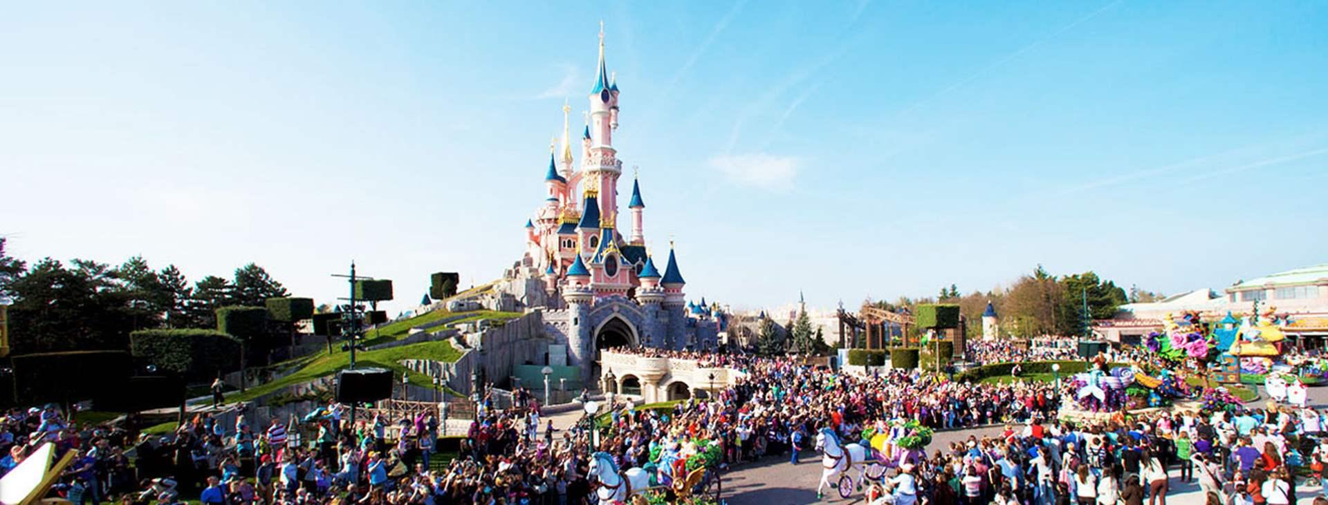 Boka en resa till barnvänliga Disneyland® Paris