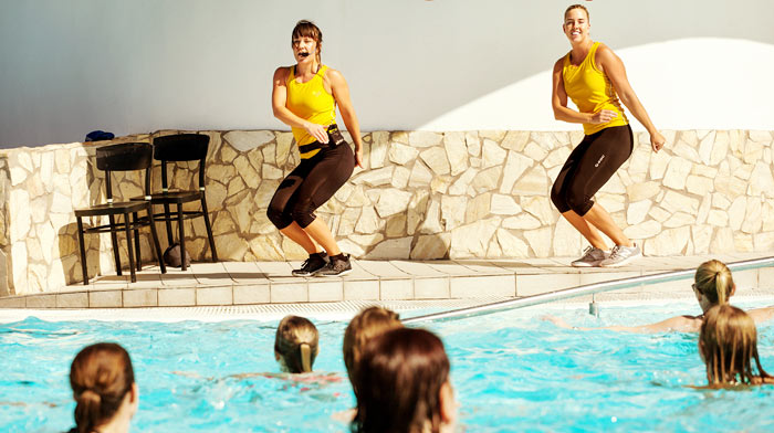 Aktiviteter vid poolen