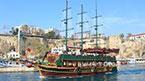På böljan blå från Antalya
