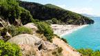 Vandring till Gjipe Beach