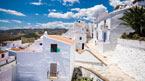 Vackra städer och grottor i Andalusien