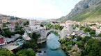 Mostar - Bosnien, kan bokas hemifrån